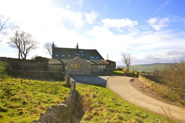 Thumbnail Barn conversion for sale in Raw End Road, Warley, Halifax