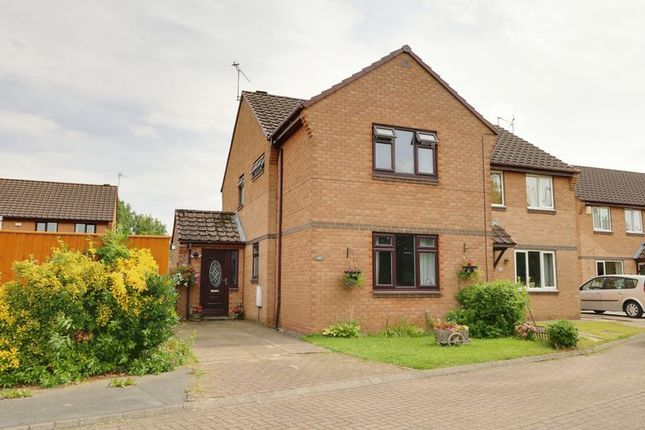 Thumbnail Semi-detached house for sale in Berryman Way, Hessle