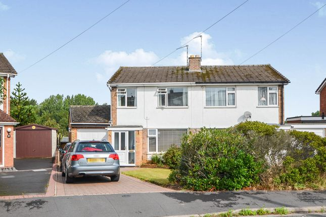 Thumbnail Semi-detached house for sale in Gibson Drive, Hillmorton, Rugby