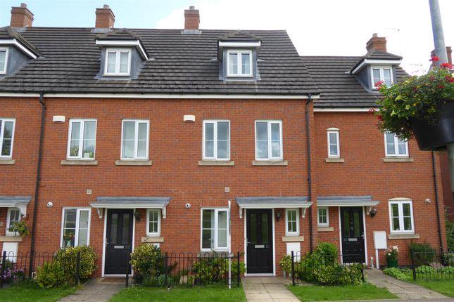 Thumbnail Town house to rent in Mallard Court, Oakham