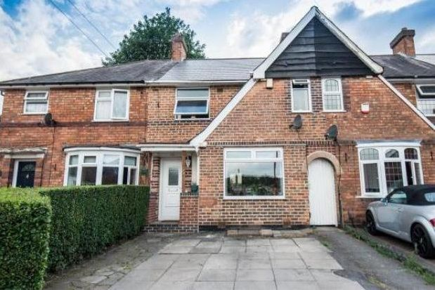 Terraced house in  Wanstead Grove  Kingstanding  Birmingham  Birmingham
