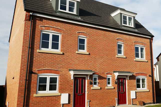 Thumbnail Mews house for sale in Off Hallam Fields Road, Birstall