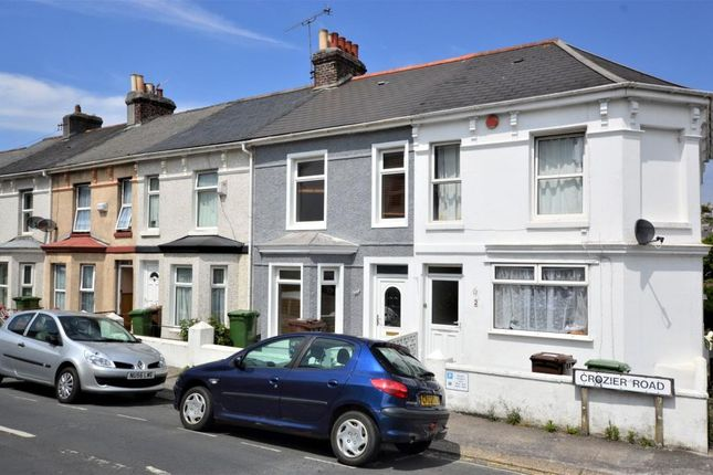Thumbnail Terraced house to rent in Crozier Road, Plymouth, Devon