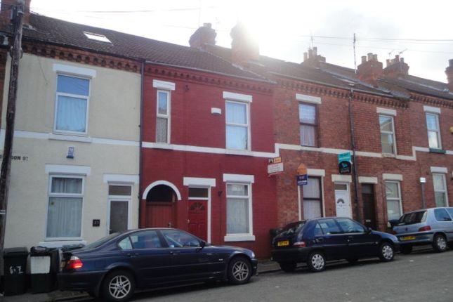 Thumbnail Terraced house to rent in Gordon Street, Earlsdon, Coventry
