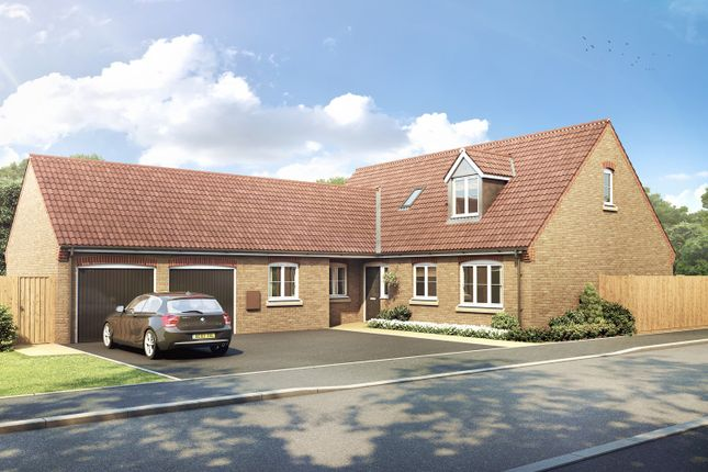 Thumbnail Bungalow for sale in Wardentree Lane, Pinchbeck