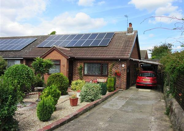 Thumbnail Semi-detached bungalow for sale in Stainton Drive, Scunthorpe