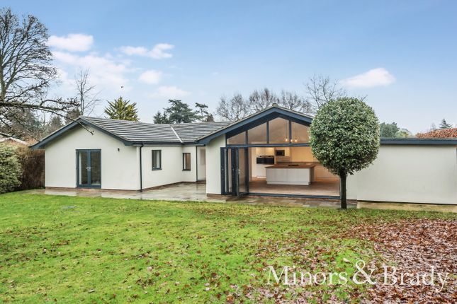 Thumbnail Detached bungalow for sale in Charles Close, Wroxham, Norwich