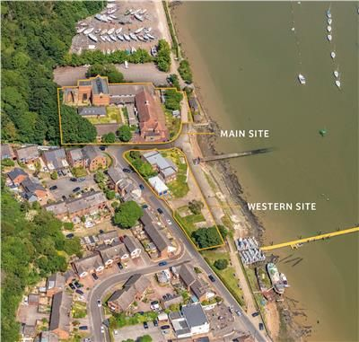 Thumbnail Leisure/hospitality for sale in Arethusa Site, 14 Upnor Road, Upnor, Rochester, Kent