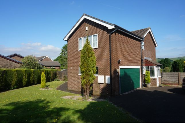 Thumbnail Detached house for sale in Downlee Close, High Peak