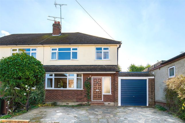 Thumbnail Semi-detached house for sale in The Chase, Ingrave, Brentwood, Essex