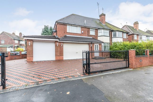 Thumbnail Semi-detached house for sale in Norman Road, Bearwood, Smethwick