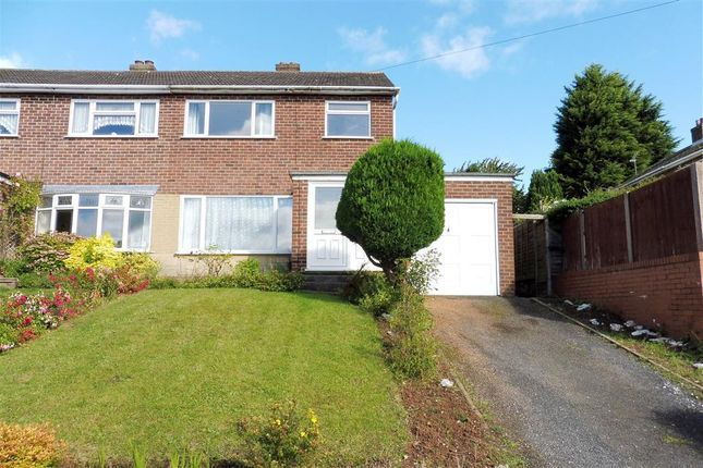 Thumbnail Semi-detached house to rent in Charnwood Road, Horninglow, Burton-On-Trent