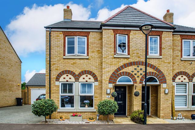 Thumbnail Semi-detached house for sale in Louise Rise, Fairfield, Hitchin, Bedfordshire