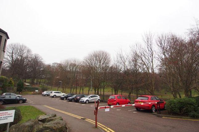 Car Park Area of Cherrybank Gardens, Union Glen AB11