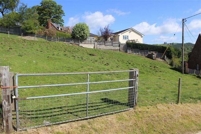 Thumbnail Land for sale in Plot 5, Bron Y Gaer, Llanfyllin, Powys