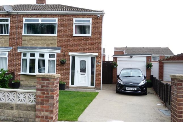 Thumbnail Semi-detached house for sale in Carron Grove, Normanby, Middlesbrough