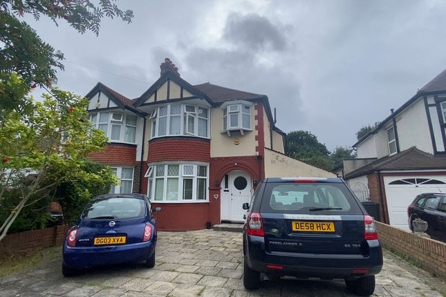 Thumbnail 3 bed semi-detached house to rent in Forest Side, Worcester Park