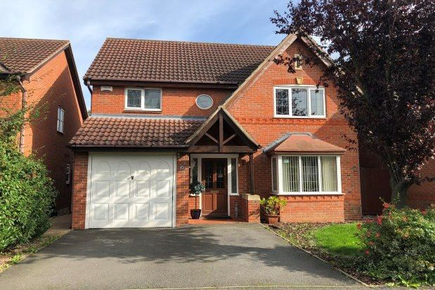 Thumbnail Detached house to rent in Templebell Close, Derby