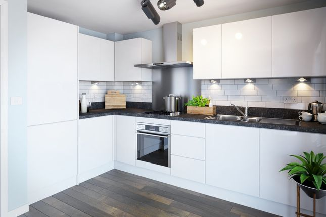 """Thumbnail Semi-detached house for sale in """"The Dudley"""" at Southwell Close, Melton Mowbray"""