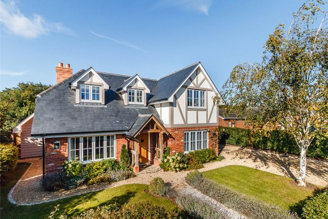 Thumbnail Detached house for sale in Orchard Close, Shiplake Cross, Oxfordshire