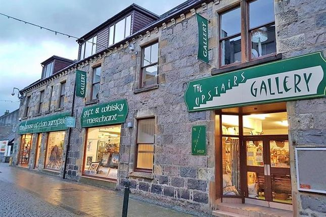 Thumbnail Commercial property for sale in House Of Clan Jamfrie, 129 High Street, Fort William