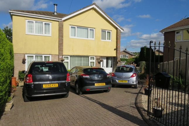 Thumbnail Detached house for sale in Maple Close, The Bryn, Blackwood