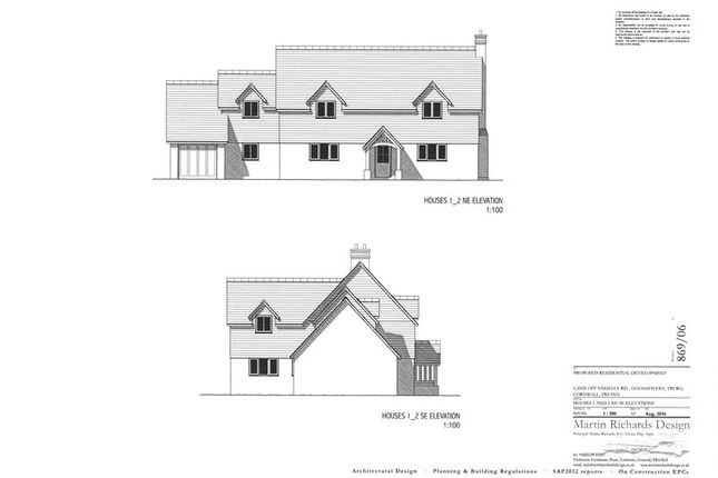 Thumbnail Land for sale in Engelly Road, Goonhavern, Truro