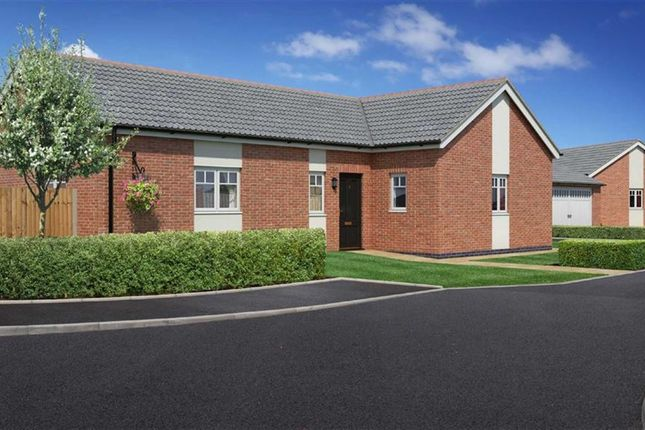 Thumbnail Bungalow for sale in Plot 2, Weavers Rise, Upper Chirk Bank, Oswestry, Shropshire