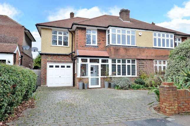 Thumbnail Semi-detached house for sale in Church Road, Worcester Park