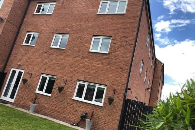 Thumbnail Town house for sale in Gibson Close, Nantwich