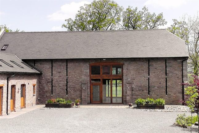 Thumbnail Barn conversion for sale in Serenity Barn, Maesyronnen, Glasbury-On-Wye