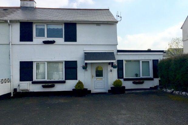 Thumbnail Semi-detached house to rent in Longstone Road, Paignton