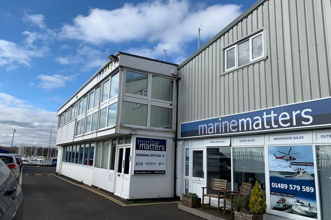Thumbnail Office to let in Unit 3B, Stone Pier Yard, Shore Road, Southampton