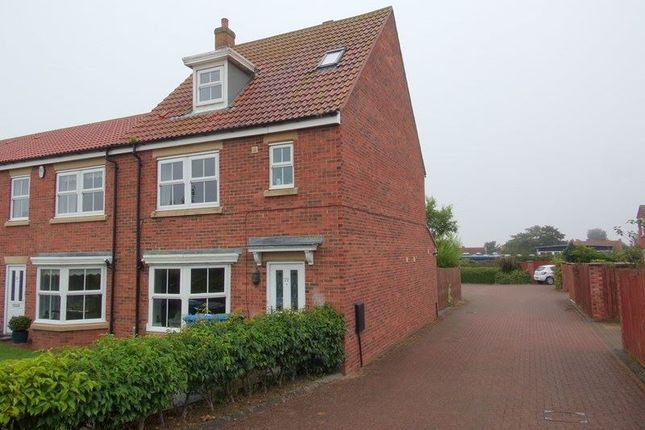 Thumbnail Town house for sale in East Field, Longhoughton, Alnwick