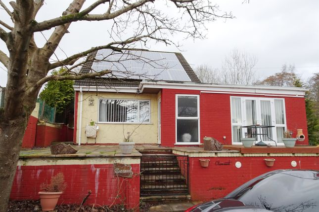 Thumbnail Detached bungalow for sale in Heol Evan Wynne, Pontlottyn, Bargoed