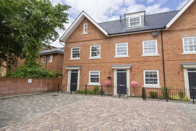 Thumbnail End terrace house for sale in Monachus Row, Hartley Wintney, Hook
