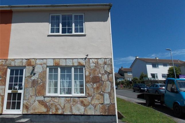 Thumbnail Semi-detached house for sale in South Park, Redruth, Cornwall