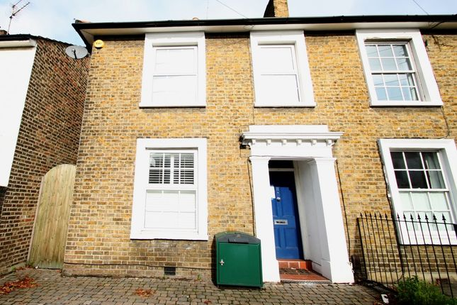 Thumbnail Semi-detached house to rent in Hawks Road, Norbiton, Kingston Upon Thames