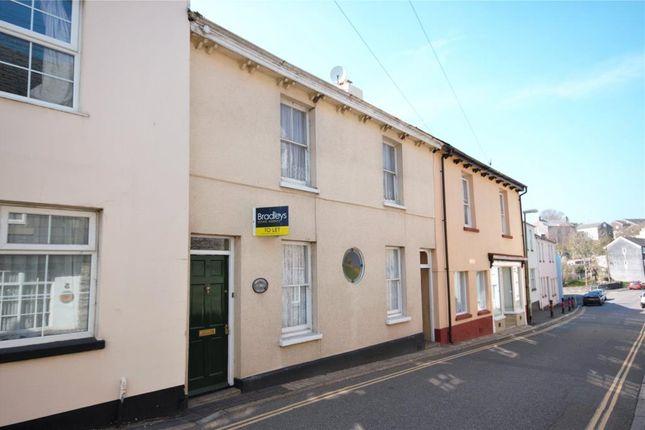 Thumbnail 3 bed terraced house to rent in Market Street, Buckfastleigh, Devon