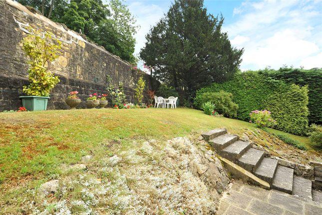 Garden of North Road, Bath BA2