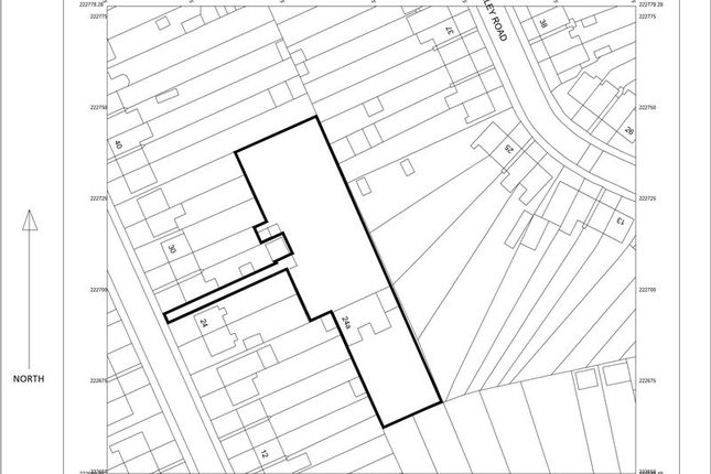 Thumbnail Land for sale in Wordsworth Road, Luton