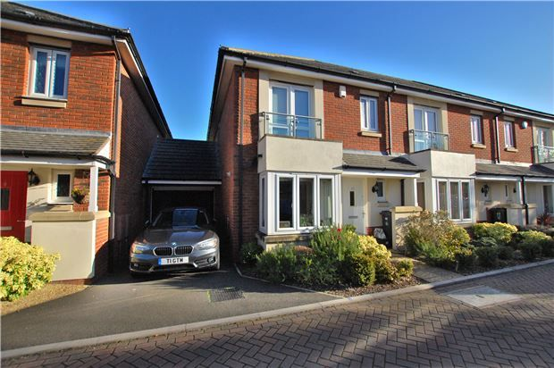 Thumbnail End terrace house for sale in Winter Walk, Whitchurch, Bristol