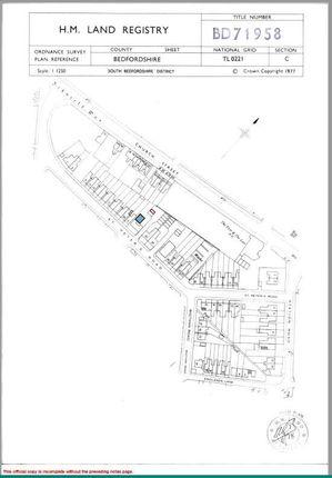 Hm Land Registry of St. Peters Road, Dunstable LU5