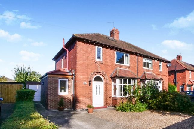 Thumbnail Semi-detached house for sale in Beckfield Lane, Acomb, York
