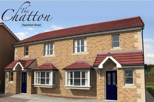 Thumbnail Semi-detached house for sale in Belford, Raynham Road, Plot 40, The Chatton