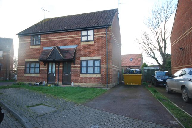 Thumbnail Semi-detached house to rent in Sandringham Close, Whaplode, Spalding