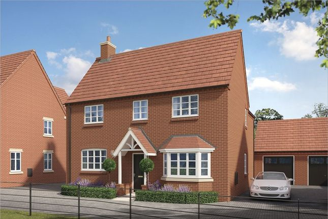 Thumbnail Detached house for sale in Foxhill, Northampton Road, Brackley