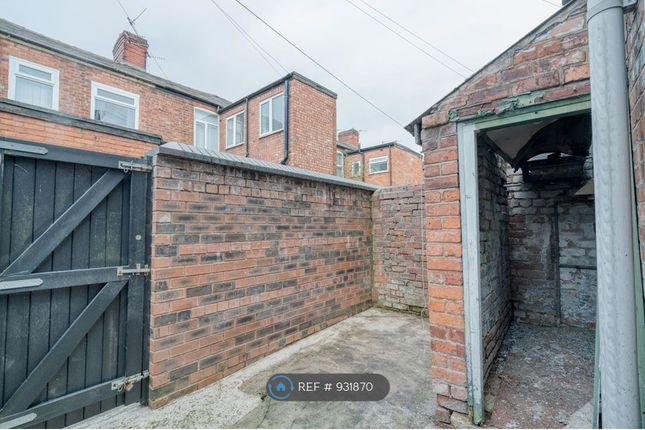 Back Yard of Milnthorpe Street, Salford M6