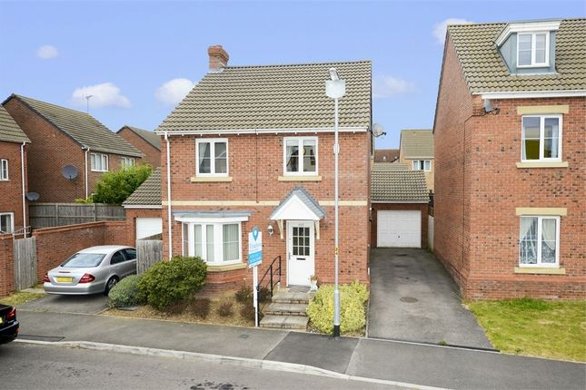 Thumbnail Detached house for sale in Dunnock Road, Oakley Vale, Corby, Northamptonshire