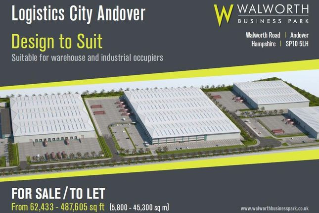 Thumbnail Pub/bar to let in Logistics City Andover, Plot 90 Walworth Business Park, Andover, Hampshire
